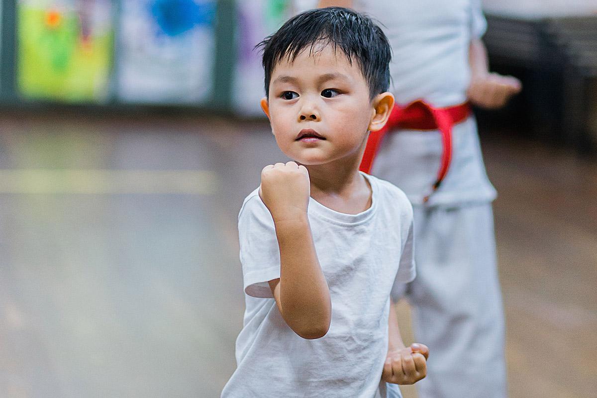 Ninja Kids | Classes for Children 5-7 years | Karate for Kids